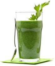 Make a Green Smoothie with Water as a Liquid Base