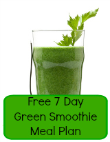 7 Day Green Smoothie Meal Plan Free Download