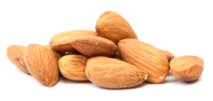almonds - healthy ingredient of almond milk