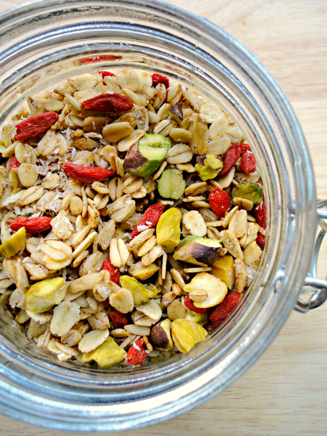 Goji Berry Trail Mix Granola