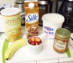 Easy Homemade Fruit Smoothie ingredients used