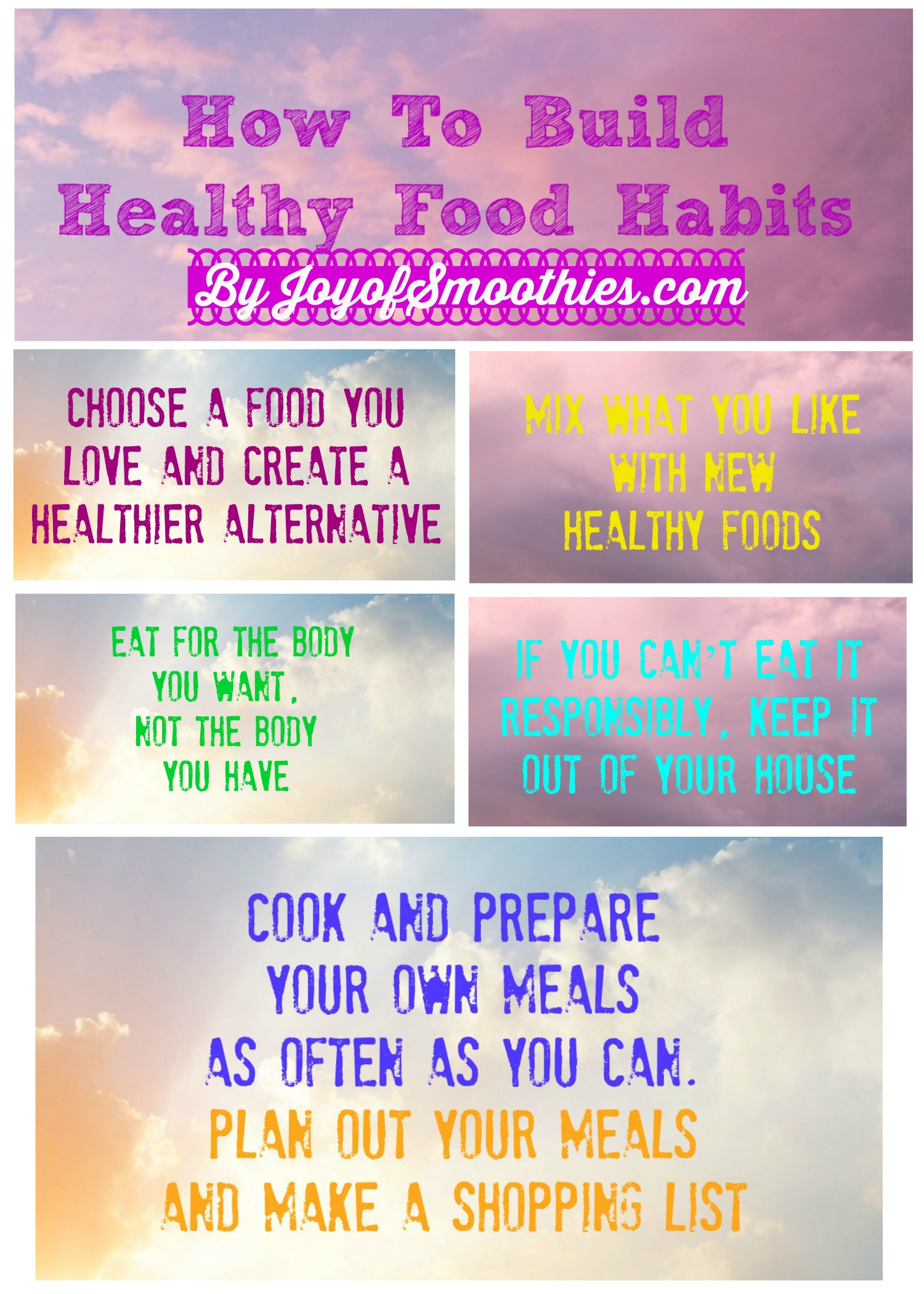 Build Healthy Food Habits Healthy Eating Tips for healthy food tips intended for your reference