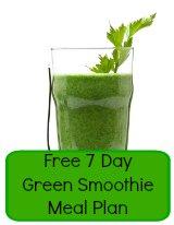 easy fruit smoothie recipe 7 day plan