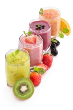 Easy recipes for fruit shakes