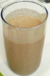 Easy Homemade Fruit Smoothie...delicious!