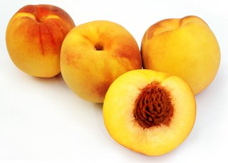 delicious healthy peaches